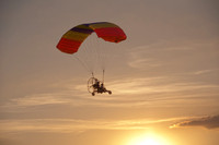 powered parachute/the last ride